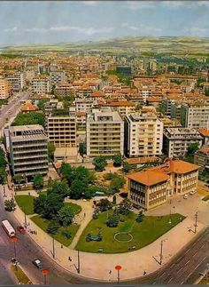 Kızılay genel merkezi, bulunduğu semte adını veren Kızılay binası, 1929 yılında yapılmıştır, 1979 yılında yıkılan Kızılay binasının yerinde devasa bir avm bulunmaktadır. Ankara, Once Upon A Time, Paris Skyline, Istanbul, Past, Nostalgia, Turkey, History, Travel