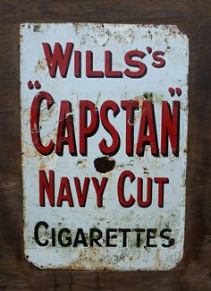Enamel sign | Flickr - Photo Sharing!