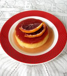 Cooking Filipino for Kulinarya Cooking Club - Blood Orange Leche Flan