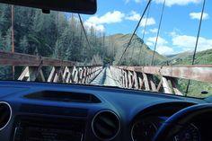 Narrow bridge and a big truck. No that's not a euphemism you sick bastards. #wanderlust #newzealand #amarok #queenstownnz