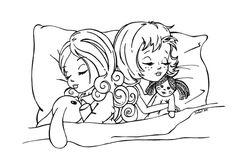 Sweet dreams by JadeDragonne.deviantart.com on @deviantART