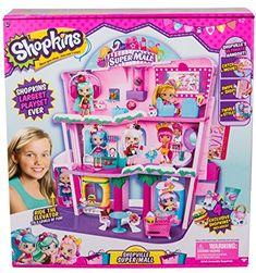 Shopkins Shoppies Shopville Super Mall #shopkinstoys