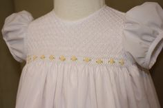 Creations By Michie` Blog: Dedication Dress Free Smocking Design