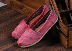 Pink Toms. :)