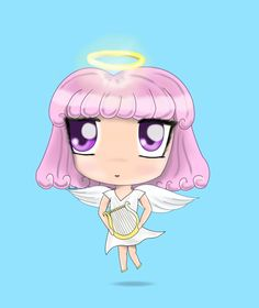 Chibi Angel by AnnaKars.deviantart.com on @DeviantArt