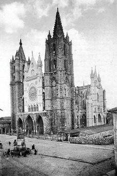 Catedral a finales del siglo XIX