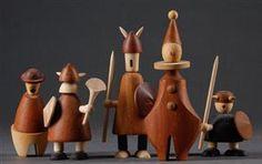 Vare: 2116988 Jacob Jensen. 'The Vikings of Denmark mm.(5)