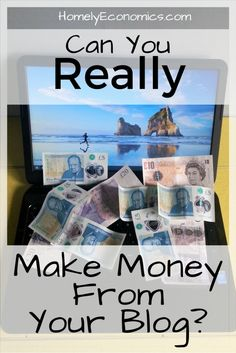 Can you really make money from your blog? Click on the picture to read about survivor bias and the truth about copying success stories.