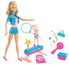 Barbie I Can Be: Gymnastics Coach Doll Play Set
