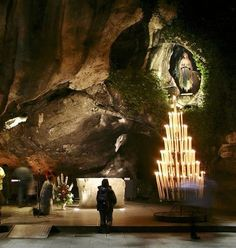 Lourdes grotto-been there & my life has never been the same: a true healing of my soul's sadness