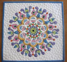 Mandala Quilt #3 by mamacjt, via Flickr