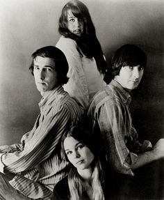 "The Mamas and the Papas were an American folk rock vocal group that recorded and performed from 1965 to 1968, reuniting briefly in 1971. The group comprised John Phillips (1935–2001), Canadian Denny Doherty (1940–2007), Cass Elliot (1941–1974), and Michelle Phillips née Gilliam (b. 1944). Their sound was based on four-voice two-part vocal harmonies arranged by songwriter and leader, John Phillips, an innovator who adapted folk to the new ""beat"" style of the early sixties."