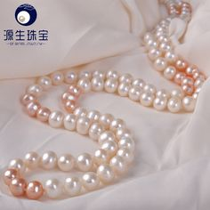 Aliexpress.com : Buy Pearl jewelry 8  9mm attractive 120cm freshwater pearl sweater necklace  for women YSN024 from Reliable chain lock for motorcycle suppliers on pearls by yuansheng