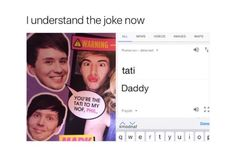 I just realized the jokes just supposed to mean tatinof <<< wow. Just. Wow.<<< I am Romanian (Alexandra Cojocaru) ✌
