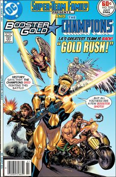 Super-Team Family: The Lost Issues!: Booster Gold and the Champions
