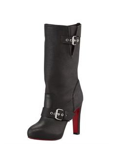 Flanavec Tall Boot by Christian Louboutin at Bergdorf Goodman.