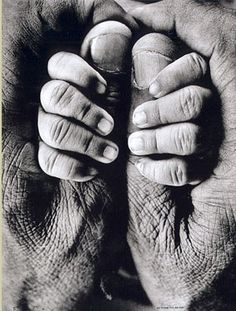 My Father and My Son, 1969 by Raghu Rai.  Embodied <3 This is a Great Idea for Baby & Grandparents!!!! WOW
