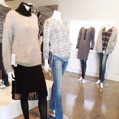Friendtex aw 2015 fashion collection in DK showroom. Designer Bettina Jonsson. Beautiful knitwear, fantastic jeans programme.