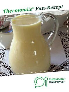 Vanillesosse -ganz einfach von Husi. Ein Thermomix ® Rezept aus der Kategorie Saucen/Dips/Brotaufstriche auf www.rezeptwelt.de, der Thermomix ® Community.