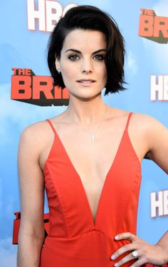 Premiere of HBO's 'The Brink' - Red Carpet - Jaimie Alexander short hair
