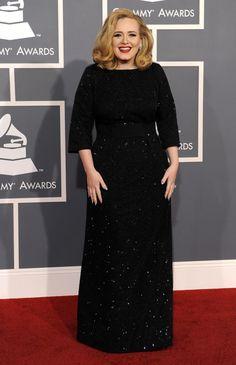 ADELE in Giorgio Armani | 2012 Grammy Awards