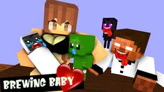 Monster School, Guinea Pigs, Minecraft, Animation, Film, Youtube, Movie, Film Stock, Cinema