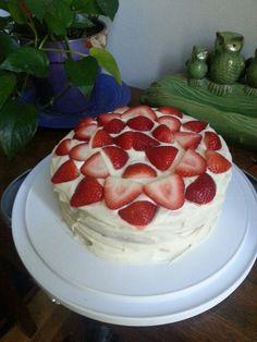Strawberry buttermilk shortcake