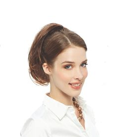 Revlon Twist Ups Wavy - Wired Hairpiece Beautiful wavy hair on a flexible comb Create a gorgeous new look easily in seconds! Simply gather hair into a bun, place comb through bun, flex the wires around your own hair and finish for a great new look.