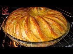 BU KADAR GÜZEL OLDUĞUNU BİLSEYDİM HEMEN HAZIRLARDIM DİYECEĞİNİZ HARİKA BİR TEPSİ POĞAÇA TARİFİ 👇👇💯😋 - YouTube Turkish Recipes, Indian Food Recipes, Real Food Recipes, Cooking Recipes, Fresh Bread, Sweet Bread, Food Platters, Food Dishes, Baked Potato Recipes