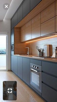 Most simple tricks: galley kitchen remodel farmhouse split level kitchen .Most simple tricks: galley kitchen remodel farmhouse split level kitchen ., simple farmhouse galley kuche mostBlack and White and Kitchen Room Design, Modern Kitchen Design, Kitchen Colors, Home Decor Kitchen, Interior Design Kitchen, New Kitchen, Home Kitchens, Kitchen Ideas, Kitchen Grey
