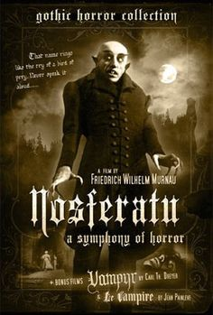 Nosferatu. Silent film, love it.