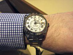 Sportswatchblogger - Der Sportuhren Blog : Rolex Oyster Perpetual Sky-Dweller Referenz 326939...