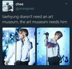 If he just stood still in the corner of that art museum in Chicago ppl would probably start admiring and observing him like honestly