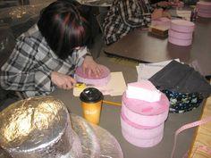 March 2013 Block carving class #millinery #judithm #hatblockdiy www.judithm.com