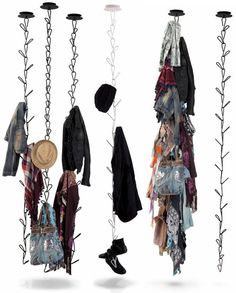 Gang by AK47 was created as a ceiling-mounted clothes hanger but really you could hang just about anything from it.