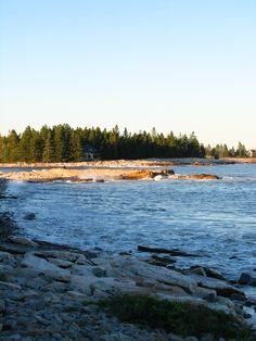 The beach  Southwest Harbor, Maine  October 2010