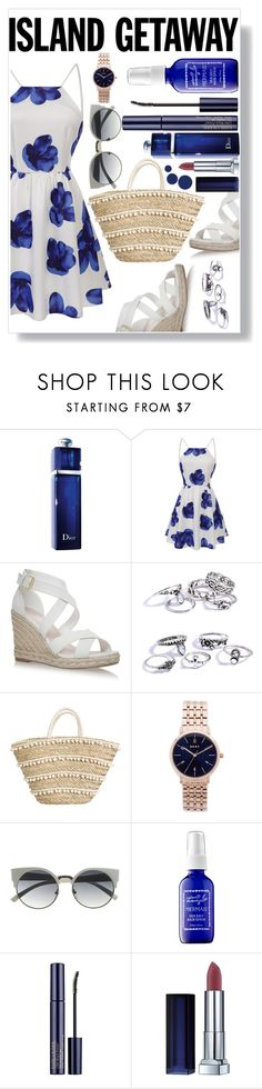 """""""Untitled #173"""" by finderskeeper ❤ liked on Polyvore featuring Christian Dior, DKNY, Captain Blankenship, Estée Lauder and RGB Cosmetics"""