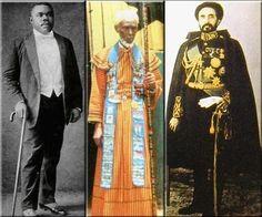 Prophet Marcus Garvey, Priest Emmanuel Charles and King Haile Selassie I: ...