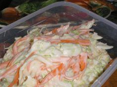 Kipróbált Coleslaw saláta recept egyenesen a Receptneked. Cabbage Salad, Cooking Recipes, Healthy Recipes, Hungarian Recipes, Coleslaw, Fresh Rolls, Cake Cookies, Potato Salad, Cake Recipes