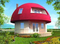Maison champignon dans un village de vacances en Turquie
