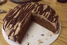 Mocha Almond Fudge Melted Ice Cream Cake
