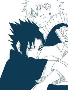 Sasunaru That look 😍😍😍😍 Anime Naruto, Naruto Vs Sasuke, Naruto Shippuden Anime, Sakura And Sasuke, Anime Manga, Sasunaru, Boruto, Narusaku, Ninja