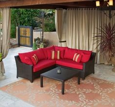 RST Outdoor Cantina Corner Sectional with Coffee Table Set Patio Furniture, 4-Piece  To find out more go here:  http://www.amazon.com/gp/product/B004SE27A0/ref=as_li_ss_tl?ie=UTF8=1789=390957=B004SE27A0=as2=httpwwwpossen-20