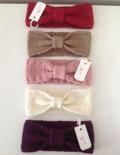 Artículos similares a Bow Ear-Head Warmer Woman- Kids en Etsy Head Wrap Headband, Diy Headband, Knitted Headband, Bow Headbands, Cute Things For Girls, Clothing Websites, Women's Clothing, Headbands For Women, Winter Accessories