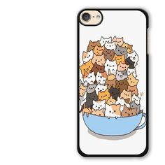 Because Cats on Bowl iPod Touch 6 Case