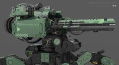 ArtStation - Destruction Unit ! close-up, Amin Akhshi