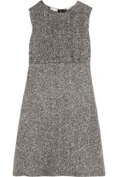 Dolce & Gabbana Herringbone wool dress | NET-A-PORTER
