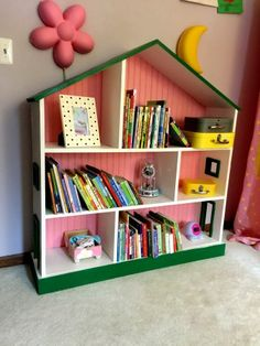 31 diy spielzimmer dekor und organisation diy room decor toy dollhouse bookcase do it yourself home projects from ana white solutioingenieria Images