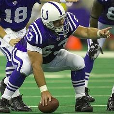 Jeff Saturday Ended His Career Sunday,  The 27th Of January, 2013 At The Pro Bowl.