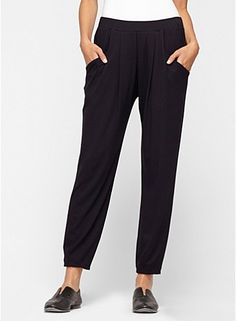 love these slouchy pants.